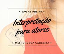 Luana Nasck: Curso online de interpretação para atores